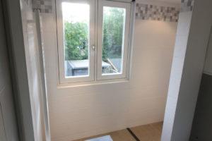 Uitgebouwde badkamer